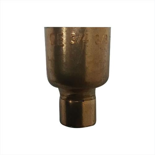 reducción de cobre 3/4  * 3/8 . cnr-5143