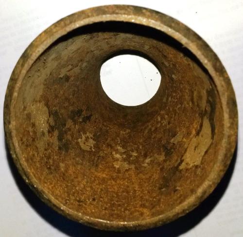 reduccion de copa 1 1/4 x 1 acero al carbón para soldar