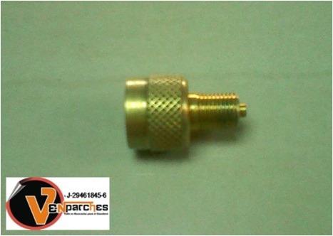 reducción o adaptador externa para válvula maq pesadas