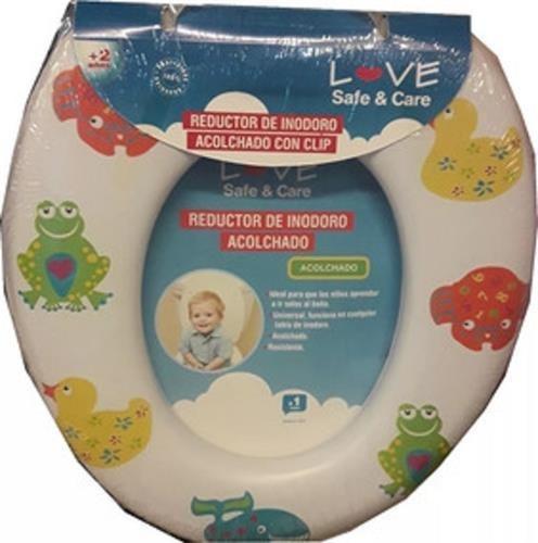 reductor adaptador de inodoro infantil acolchonado love