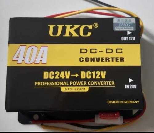 reductor de voltaje 24v a 12v dc 40a