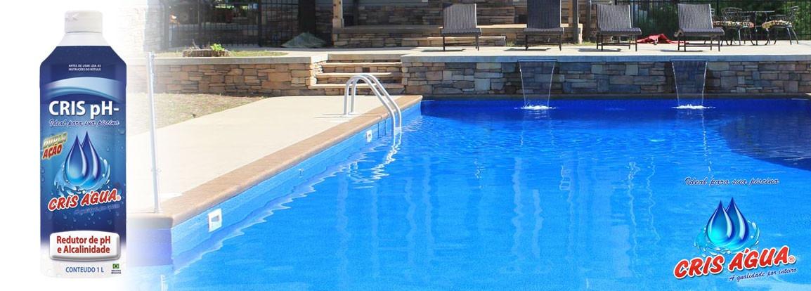 Redutor de ph e alcalinidade para piscina 1 lt r 12 00 for Bajar ph piscina