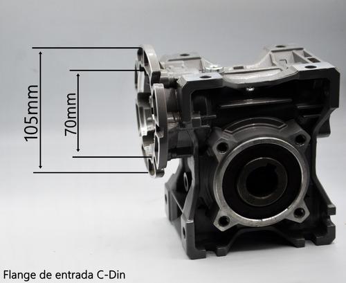 redutor de velocidade q50 1/30 71b14 eixo vazado 25mm