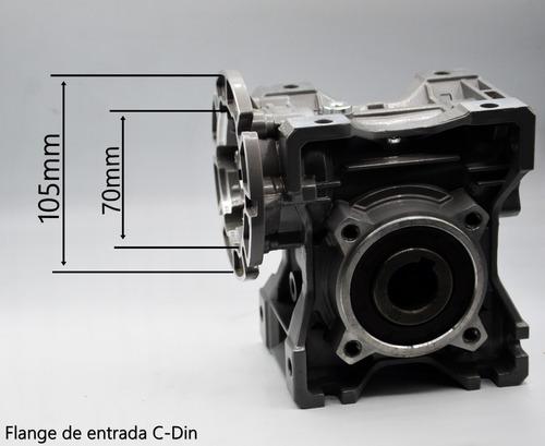 redutor de velocidade q50 1/40 71b14 eixo vazado 25mm