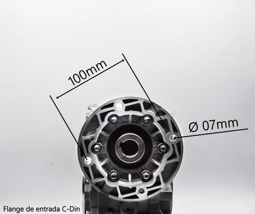 redutor de velocidade q63 1/50 80b14 eixo vazado