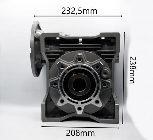 redutor de velocidade q90 1/20 100/112b14 eixo vazado 35mm