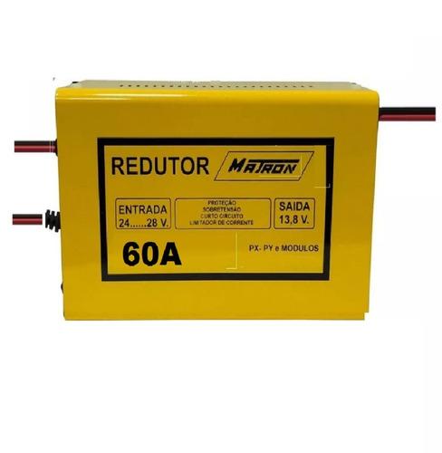 redutor de voltagem 60a - 24v para 12v som px caminhão