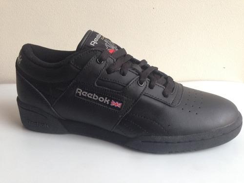 reebok clasico negro 100% original zapato hombre y mas