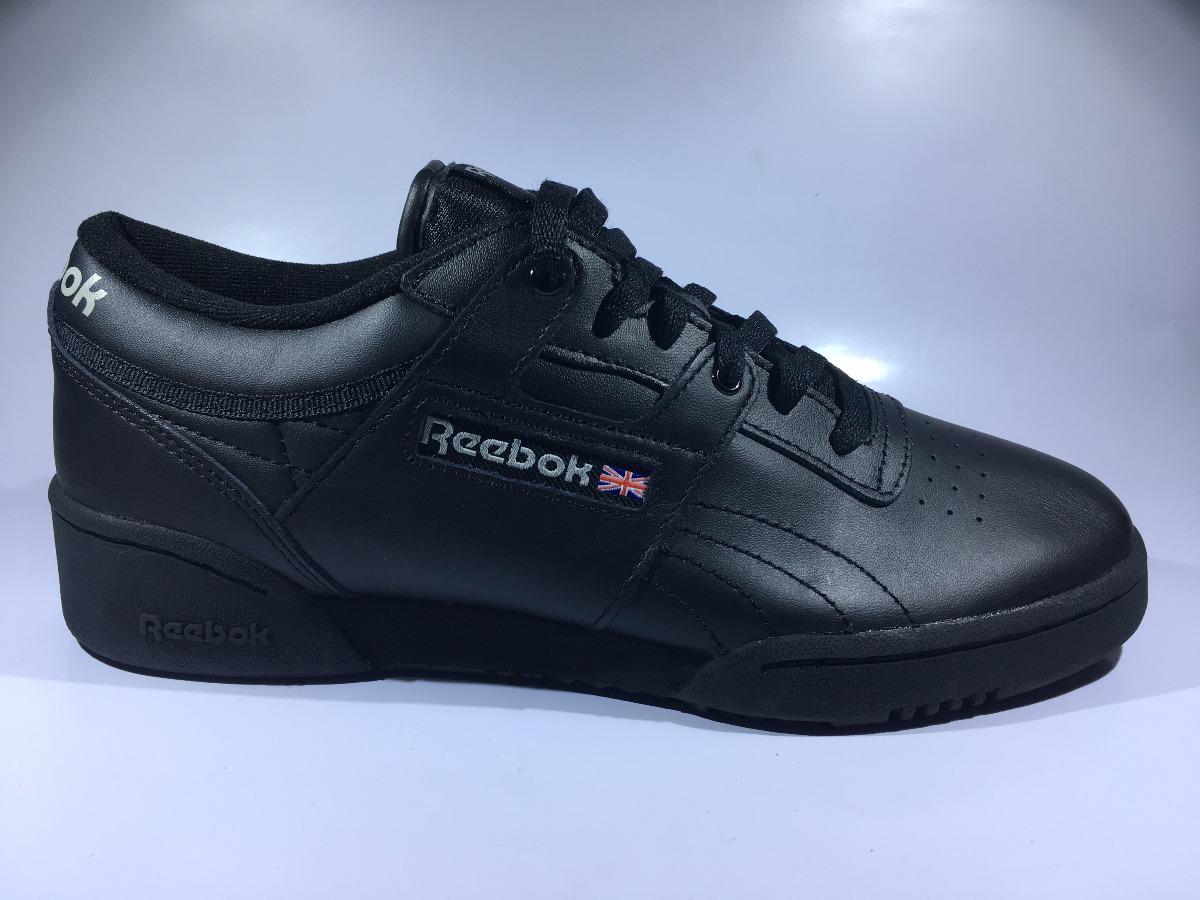 Negro Zapato Mas Hombre Y Reebok Clasico 100Original dhQrts