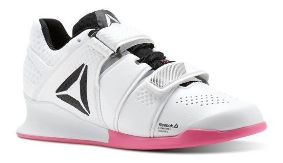 reebok rosa e branco