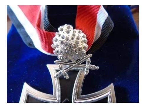 reedición cruz hierro caballero hoja roble espadas diamantes