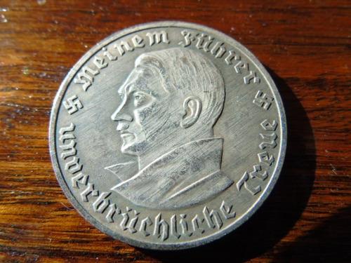 reedición medalla moneda hitler alemania segunda guerra