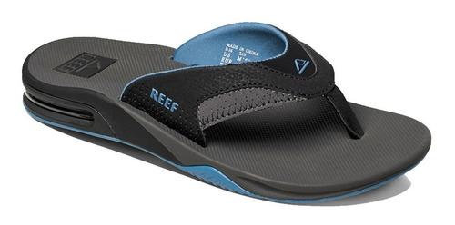 reef ojotas fanning grey/light blue 2026 (3091)