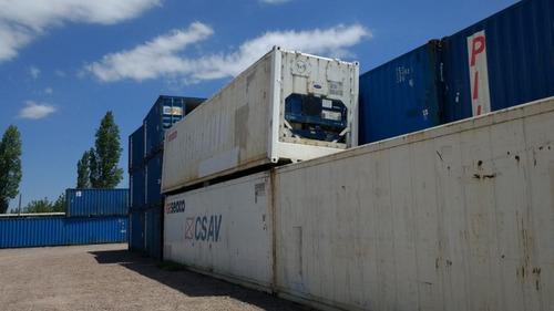reefers containers maritimo  nacionalizados 40 pies