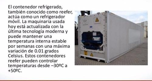 reefers contenedores refrigera maritimos camaras frigorifica