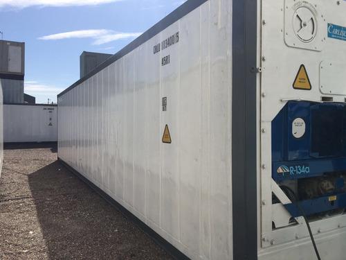 reefers contenedores refrigerado 40 hc camaras frio santa fe