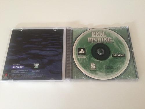 reel fishing original para psx con ps1 ps2 ps3 ps4