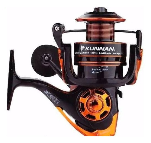 reel frontal kunnan reaction 4007 7 rulemanes carrete extra