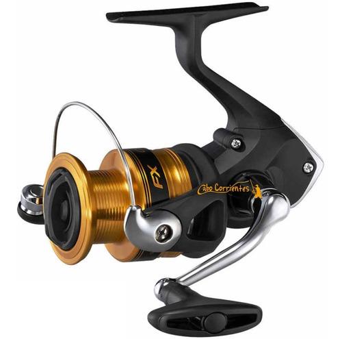 reel frontal shimano fx 2500 spinning pejerrey modelo nuevo