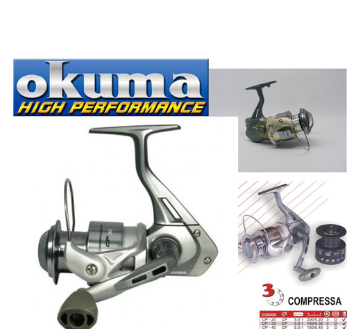 reel okuma compressa cp-50