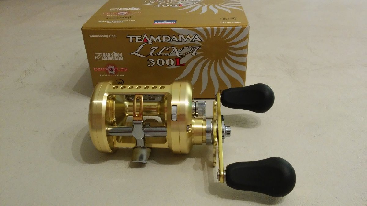 3df7c0658d8 Reel Rotativo Team Daiwa Luna 300 L. Made In Japan - $ 21.500,00 en ...