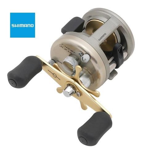 reel shimano cardiff 200a de pesca para caña de aluminio