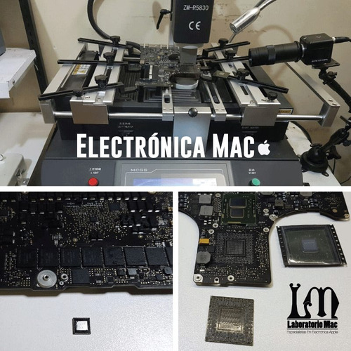 reemplazo chip video imac 21,24,27 macbook pro garantía