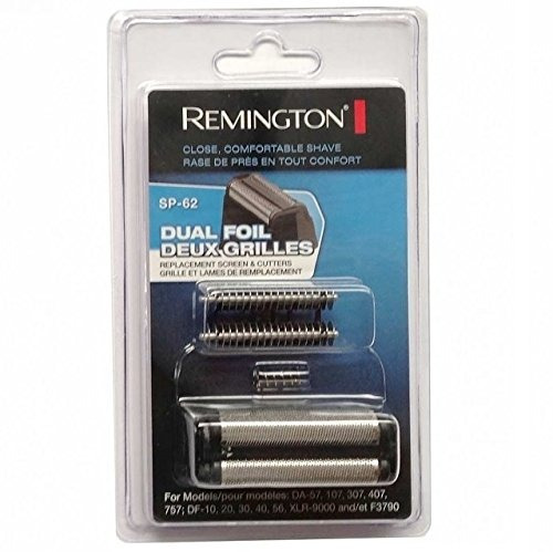 reemplazo de la lámina y del cabezal de corte remington sp-