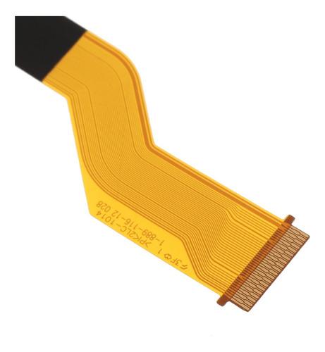 reemplazo del conector del cable flexible lcd para cámaras