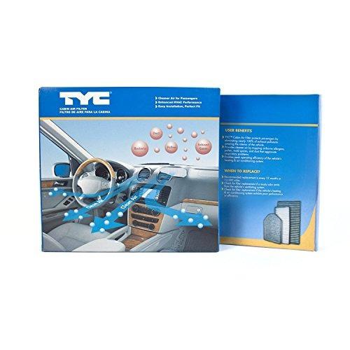 reemplazo del filtro de aire de cabina tyc  p honda k14