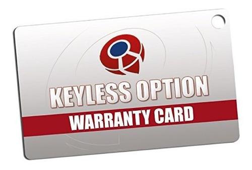 reemplazo del keylessoption del keylessoption de la llave de