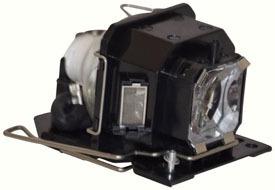 reemplazo para hitachi hcp-75x lámpara y vivienda