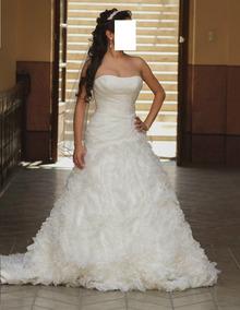 Reestrena Vestido De Novia Eduardo Nieves Color Ivory T4