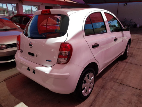 reestrene nissan march active a/c fact. agencia