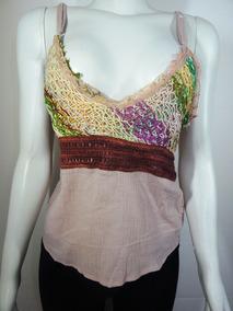853c05e401 Cropped Top Bordado Com Pedraria Camisetas Blusas no Mercado Livre Brasil