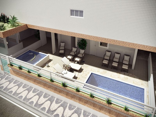 ref.: 10004 - apartamento em praia grande, no bairro guilher