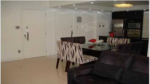 ref.: 1006400 - apartamento em santos, no bairro gonzaga - 3 dormitórios