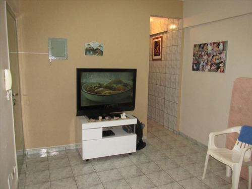 ref.: 10077100 - apartamento em praia grande, no bairro guilhermina - 1 dormitórios