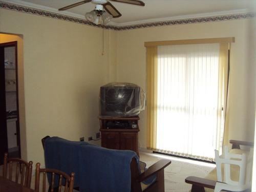 ref.: 1008 - apartamento em praia grande, no bairro guilhermina - 2 dormitórios