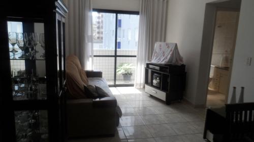ref.: 1010 - apartamento em praia grande, no bairro guilhermina - 2 dormitórios