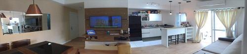 ref.: 101016104 - apartamento em santos, no bairro boqueirao - 1 dormitórios