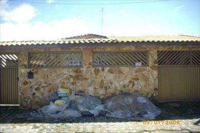 ref.: 101100 - casa em praia grande, no bairro vila mirim - 2 dormitórios