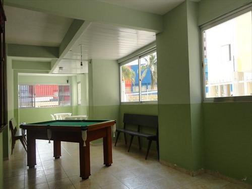 ref.: 101101 - apartamento em praia grande, no bairro guilhermina - 2 dormitórios
