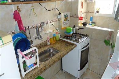 ref.: 101227500 - apartamento em praia grande, no bairro mirim - 1 dormitórios