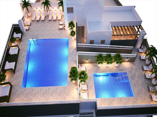 ref.: 1012410600 - apartamento em praia grande, no bairro guilhermina - 2 dormitórios