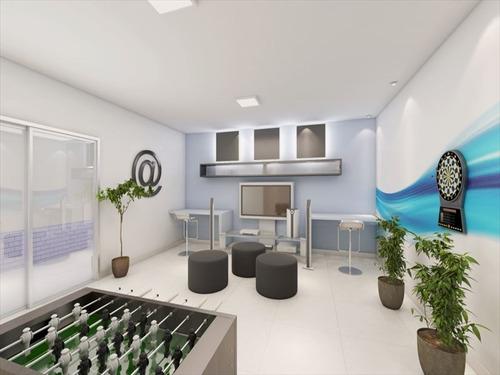 ref.: 1012410800 - apartamento em praia grande, no bairro guilhermina - 1 dormitórios