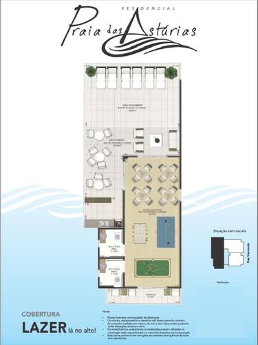 ref.: 1012411800 - apartamento em praia grande, no bairro guilhermina - 1 dormitórios