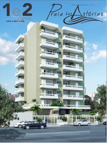 ref.: 1012411900 - apartamento em praia grande, no bairro guilhermina - 2 dormitórios