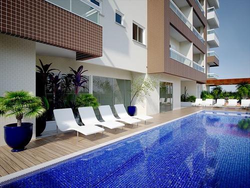 ref.: 1012412000 - apartamento em praia grande, no bairro guilhermina - 1 dormitórios