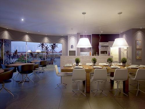 ref.: 1012412100 - apartamento em praia grande, no bairro guilhermina - 2 dormitórios